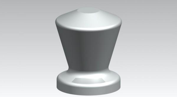 Zierzylinde Aluminium 30 mm