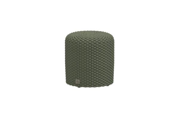 Muffi Rope Puff round 40 cm, H42 cm grün